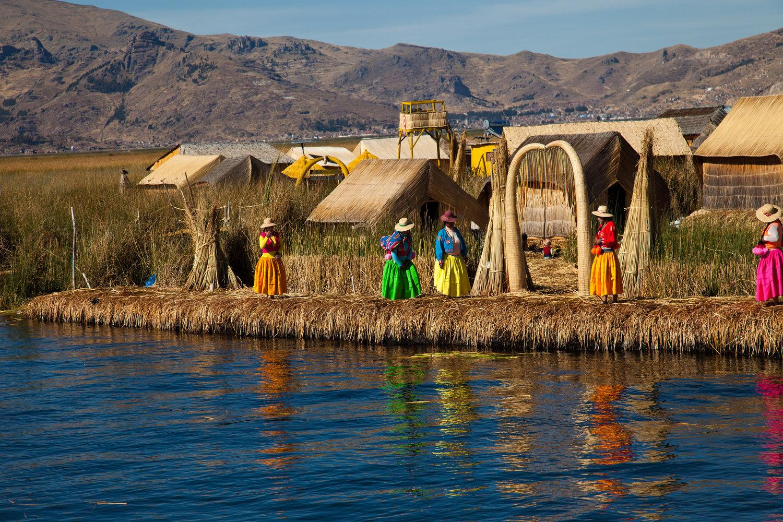 Local life on Lake Titicaca