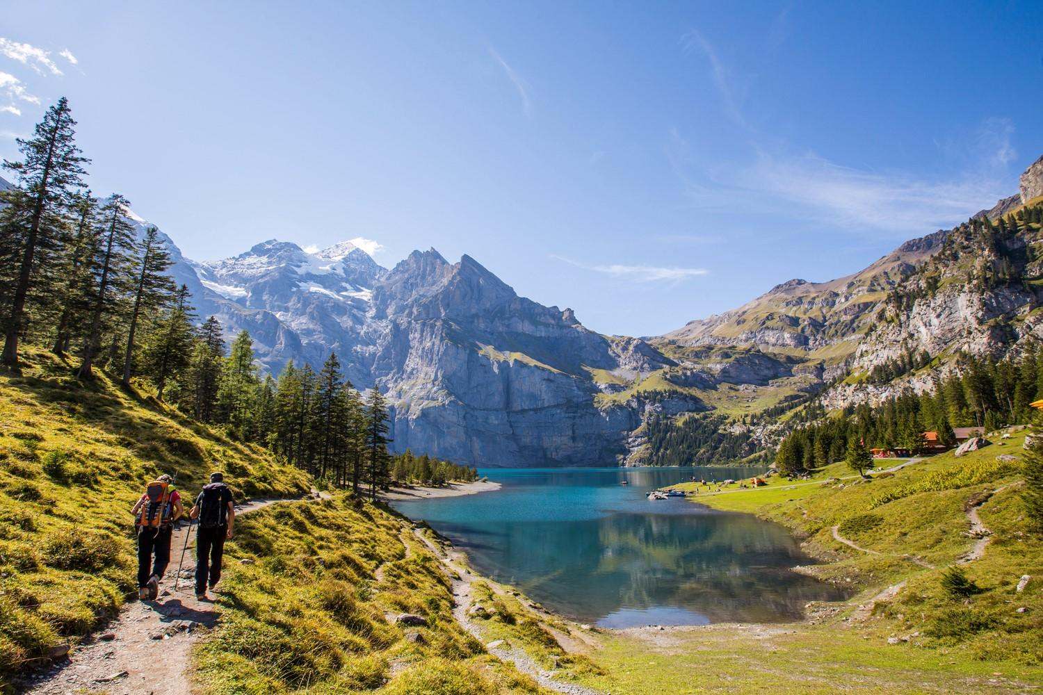 Swiss Trails: Bernese Oberland & The Valais self guided walking holiday