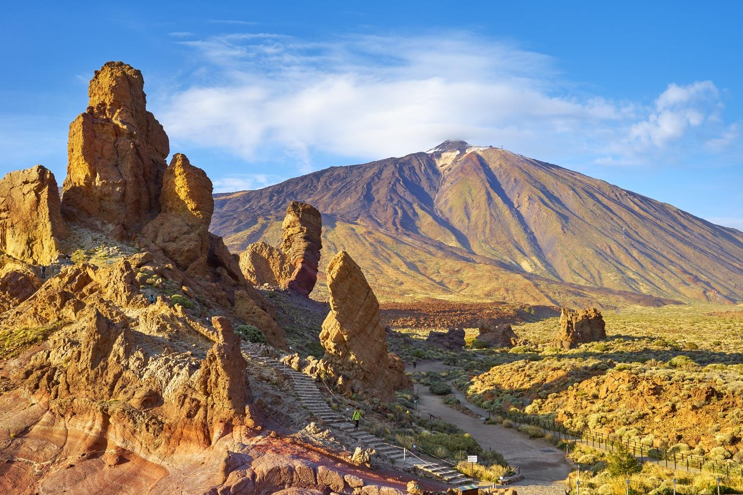 Self guided walking holiday Mount Teide to the Coast