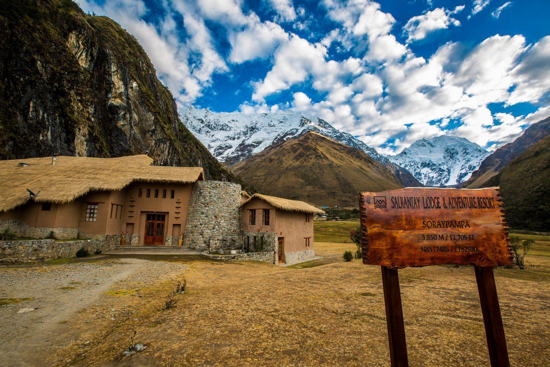 Typical Salkantay Trek Lodges