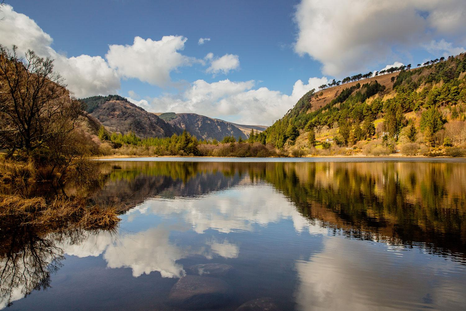 The heart of the Glendalough Valley