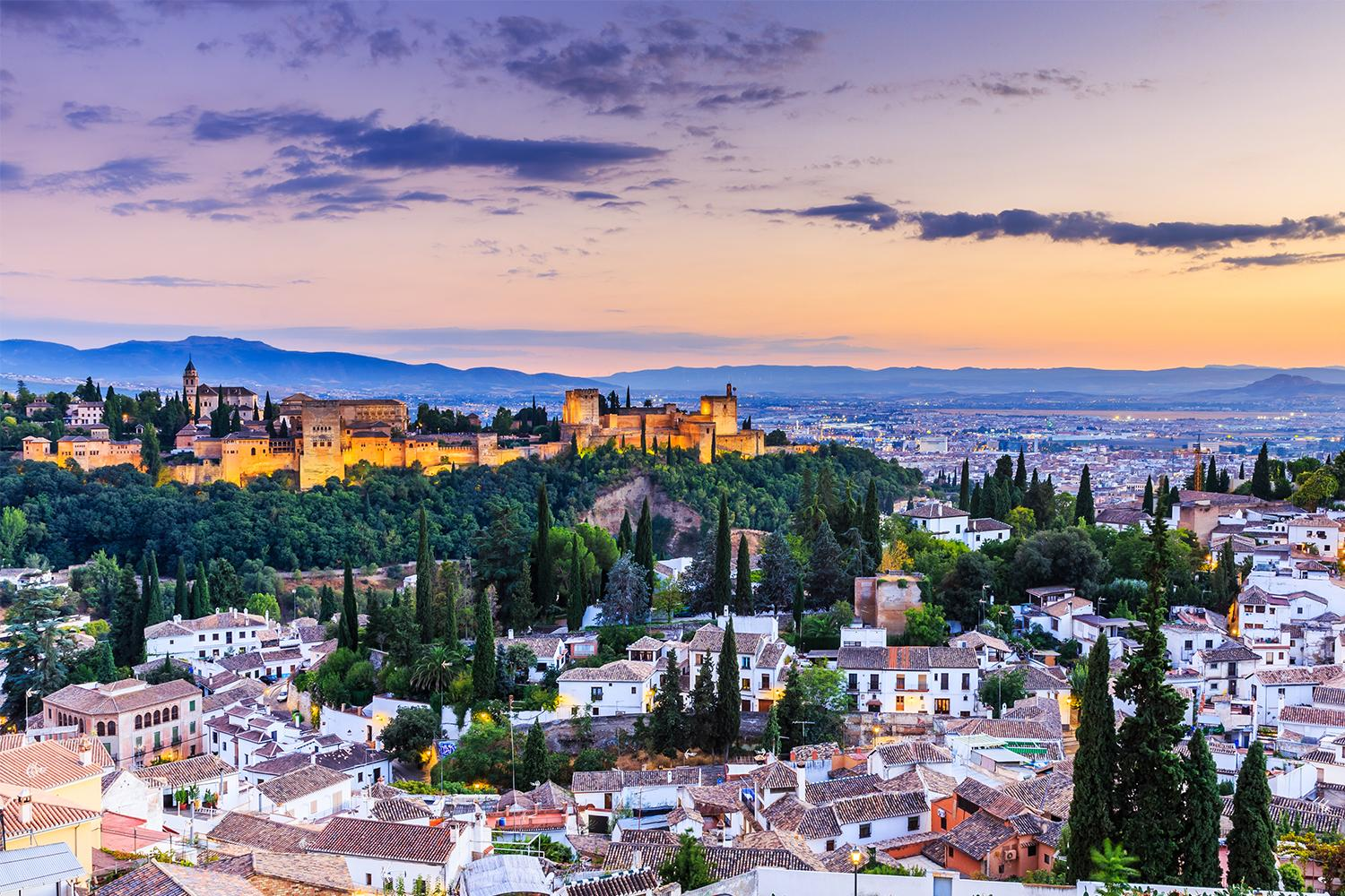 Take in the culture, delicious food and medieval architecture in the fantastic city of Granada