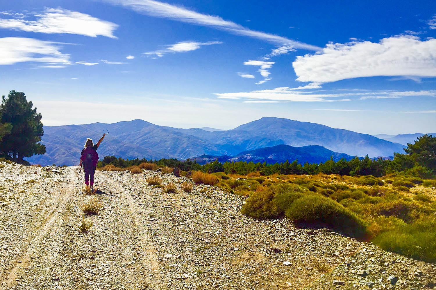 Breathe in fresh Andalucian mountain air and walk along remote trails with stunning panoramas