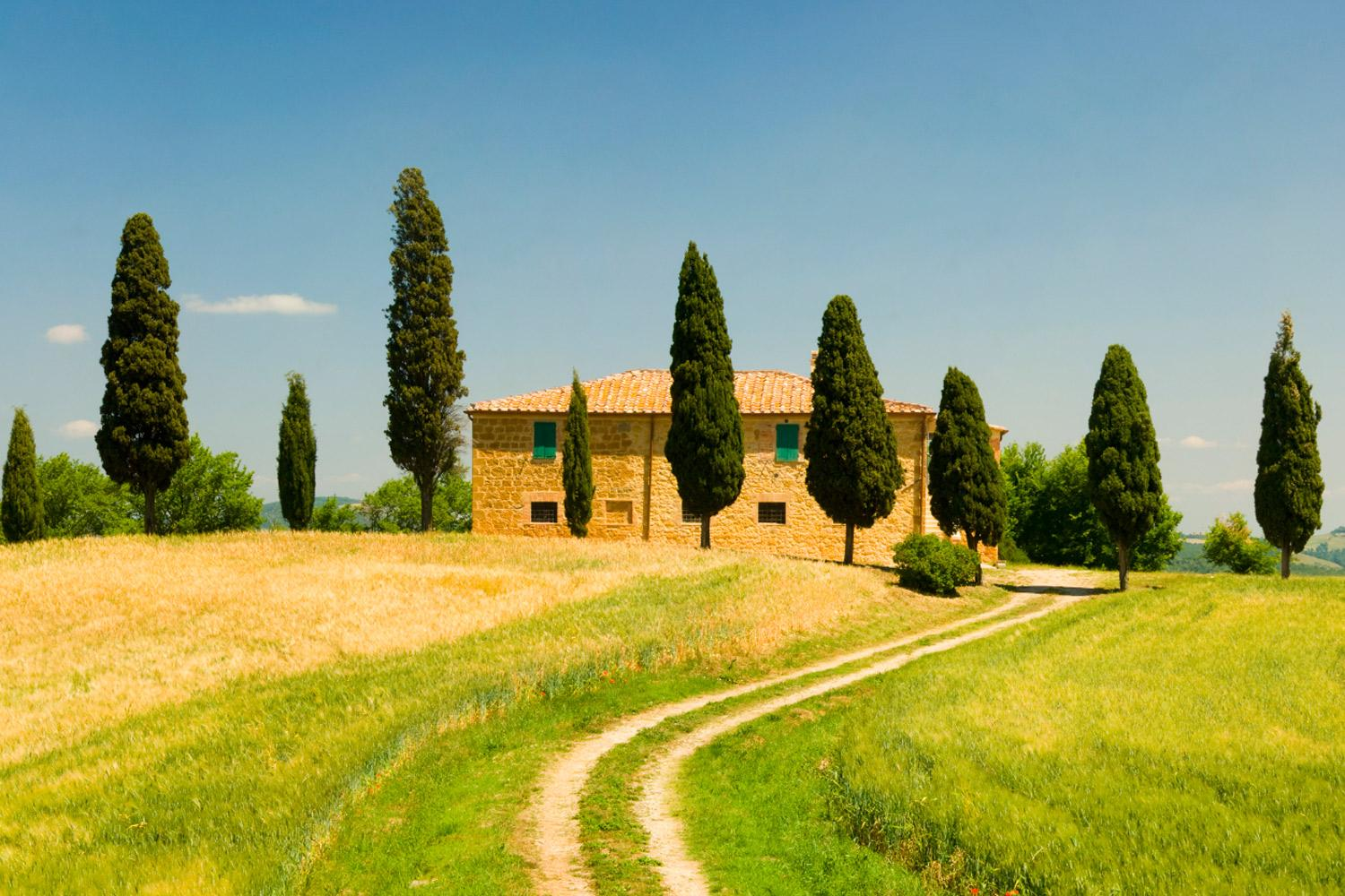Hill Towns of Tuscany Highlights Self Guided Walking Holiday