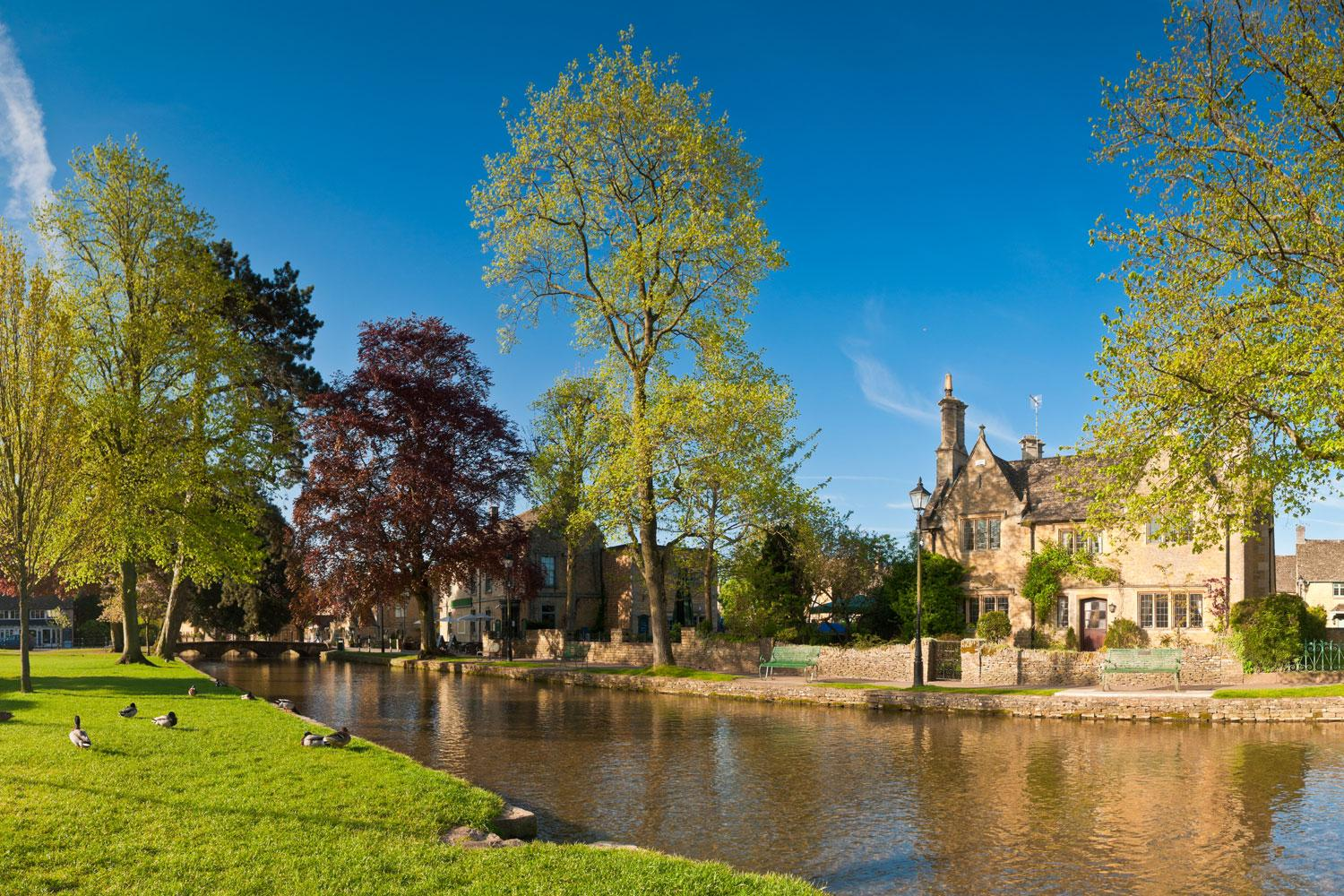 Bourton-on-the-Water on the Cotswold Trail