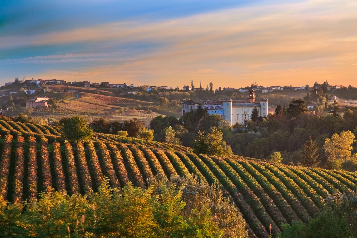 Costigliole d'Asti Barolo Vineyard Trail Self Guided Walking Holiday