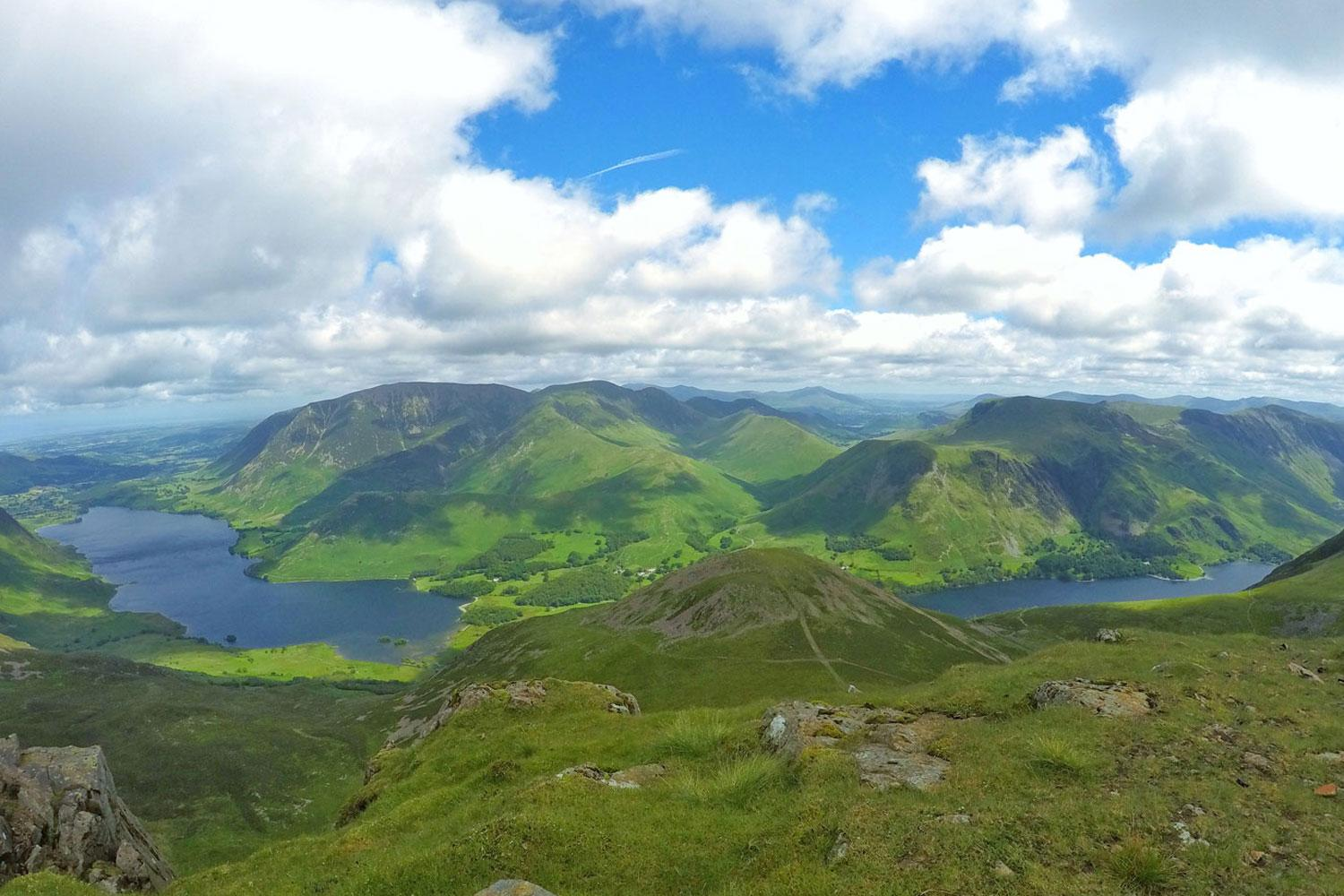 View from High Crag over Buttermere