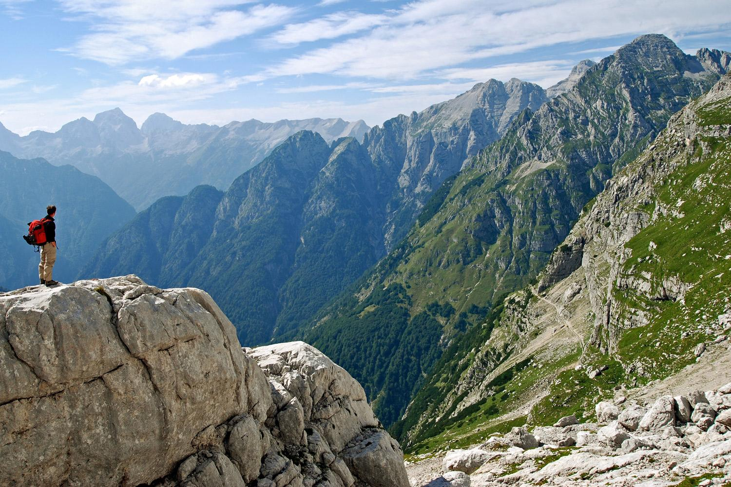 High Trails of the Julian Alps Self Guided Hiking Vacation