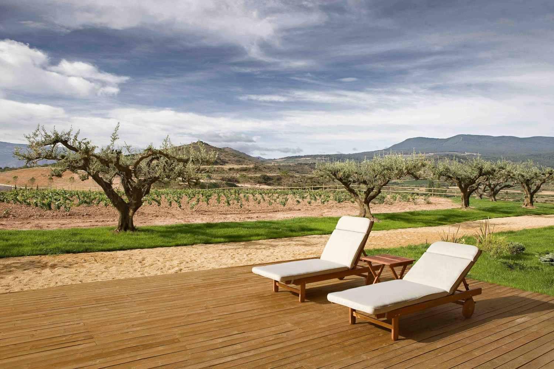 Hotel in winery in Rioja Arandinos