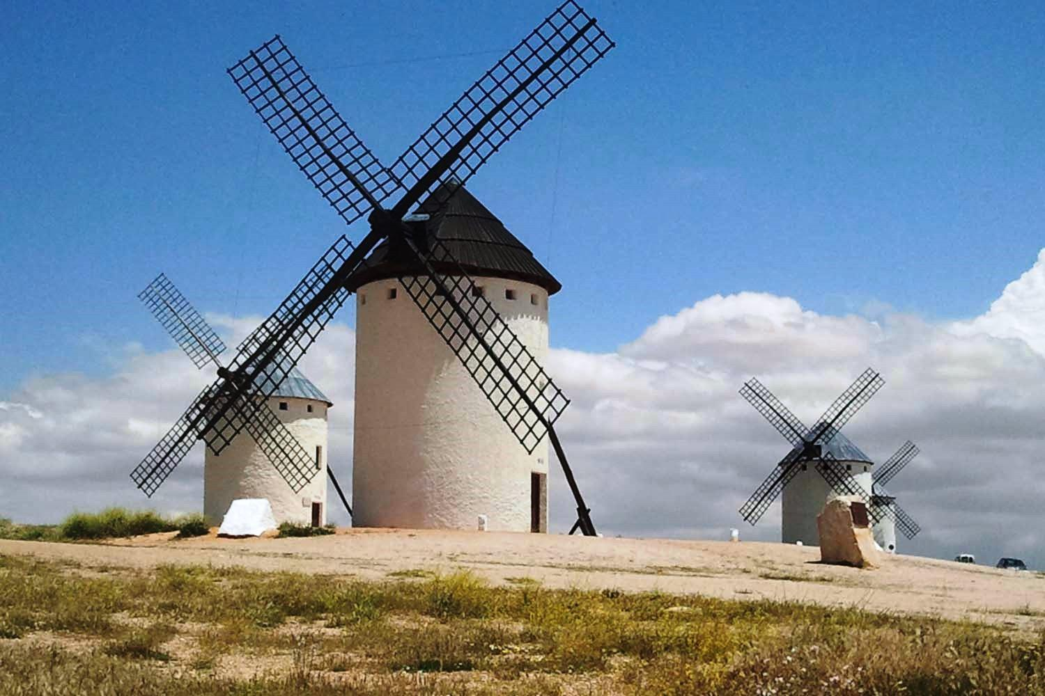 Tour from Madrid to La Mancha