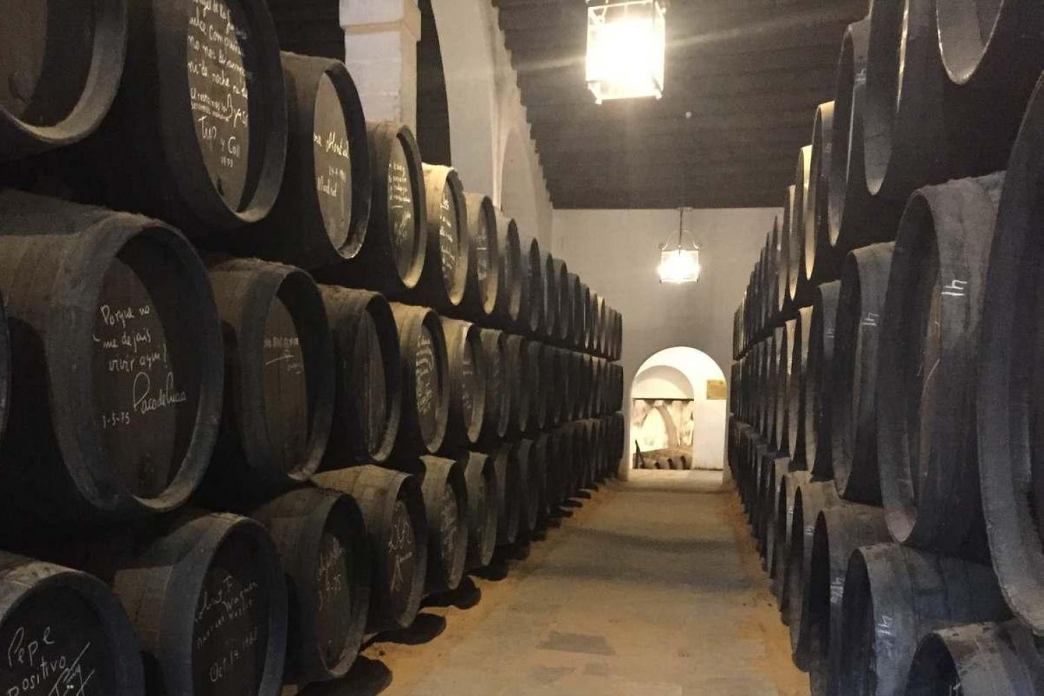 Visit Sherry wineries in Jerez