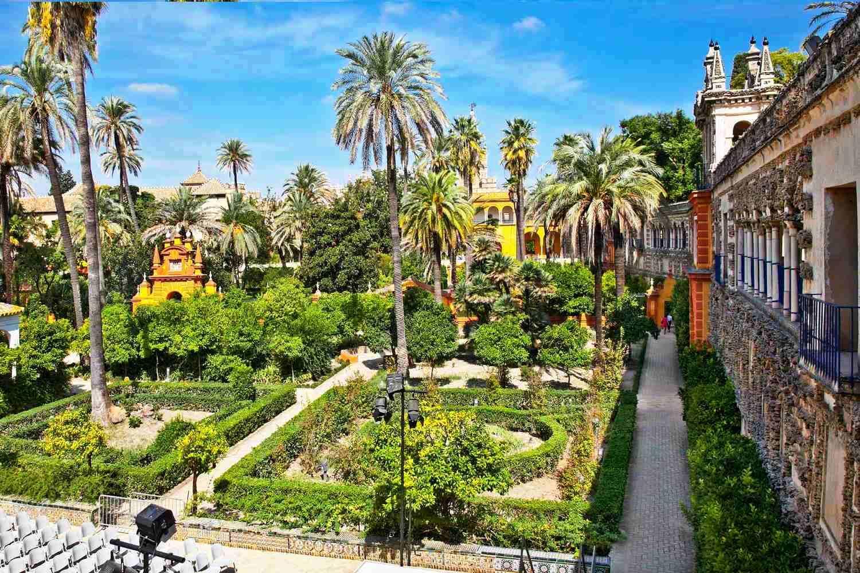 Escapada en Sevilla. Jardines del Alcazar de Sevilla