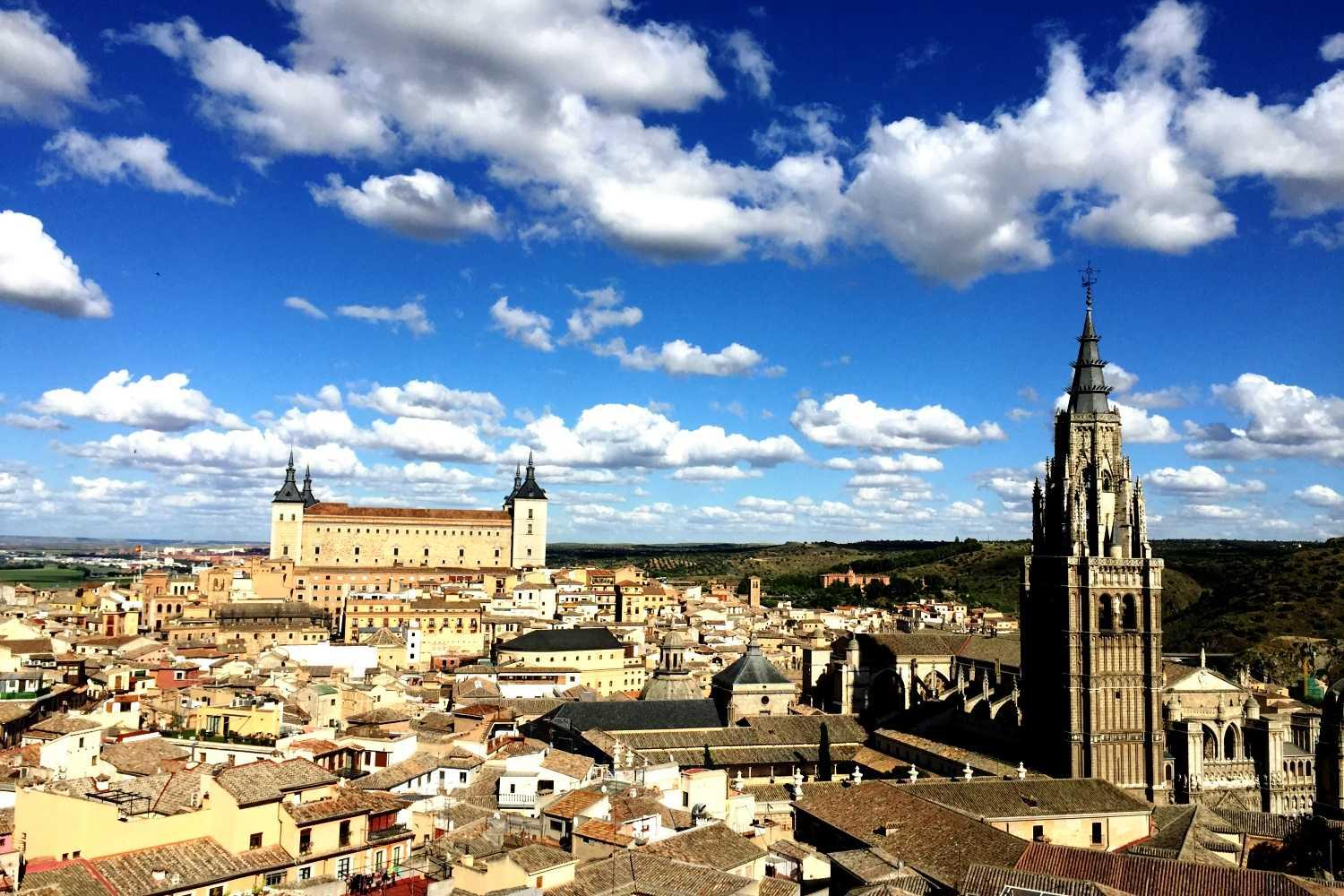 Views of Toledo on this private tour