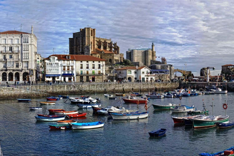 Road trip from Bilbao and San Sebastian to Santiago de Compostela in Spain