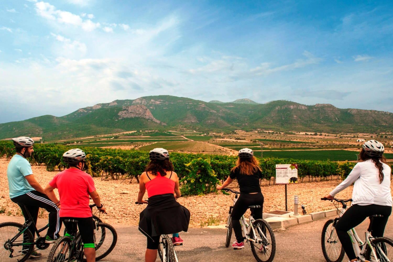Paseo en bici en Murcia