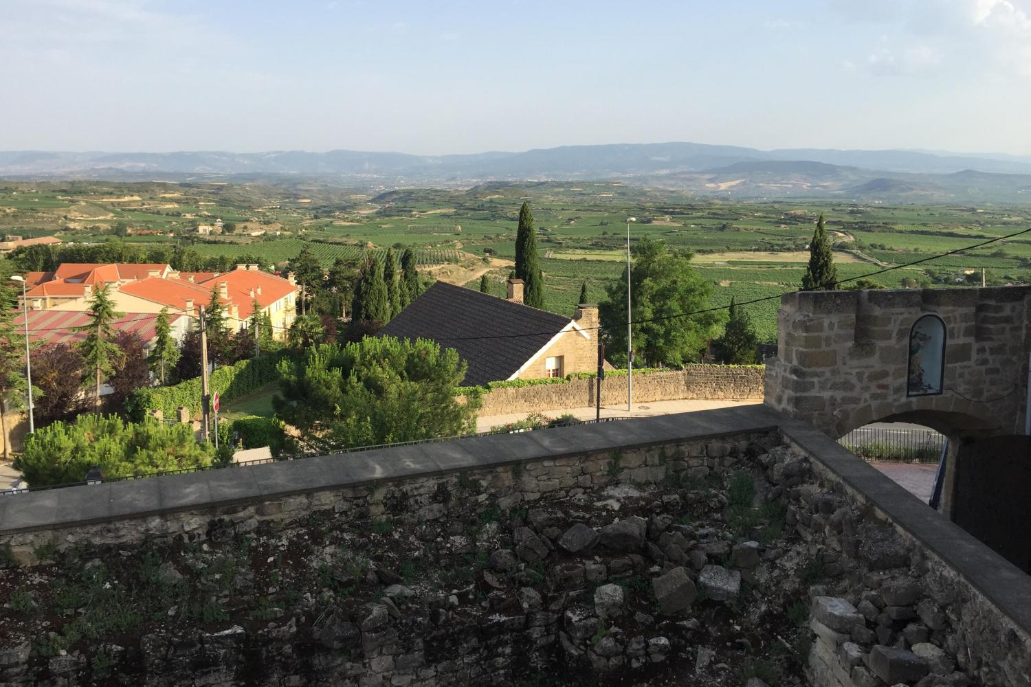 views from Laguardia, Rioja Alavesa