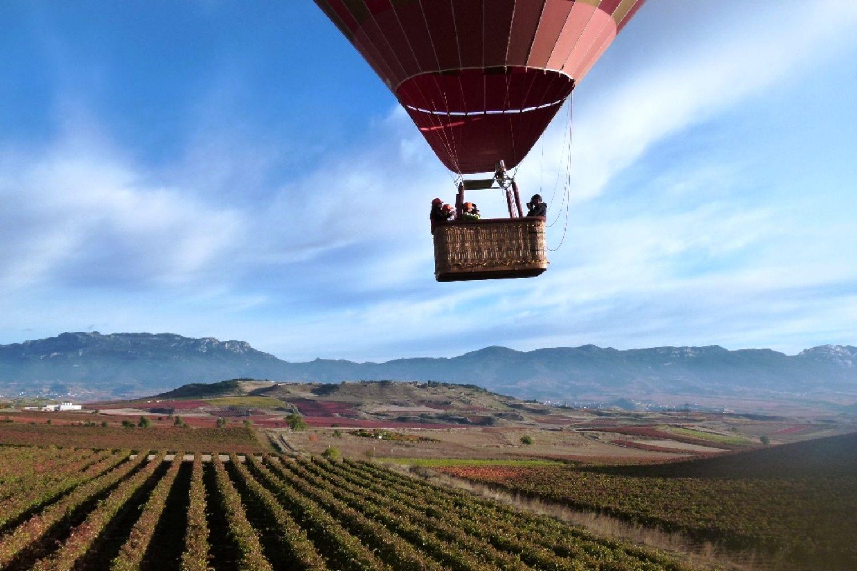 Vuelo en globo en Rioja