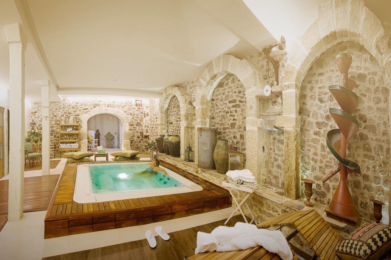 Spa dentro de hotel rural en Soria