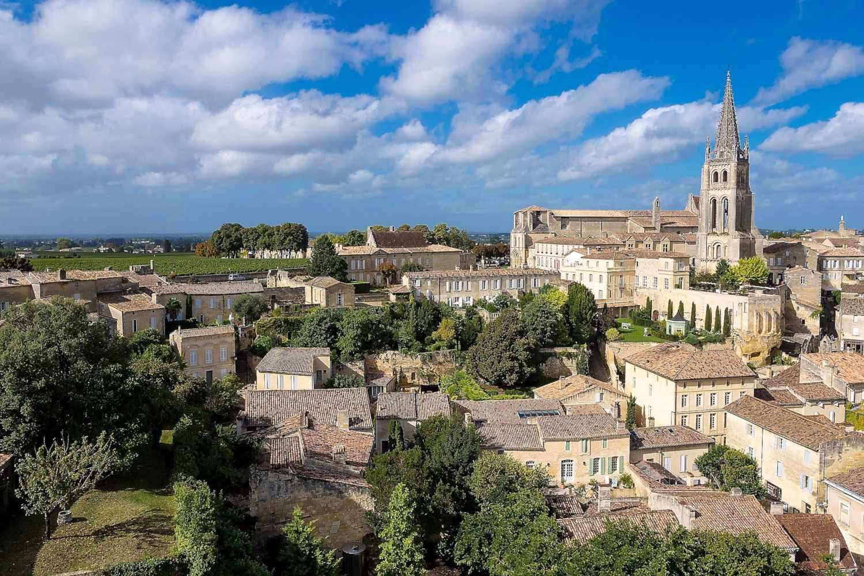 Saint Emilion from a San sebastian to Bordeaux tour