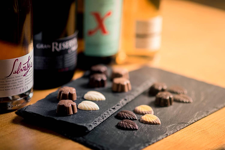 Maridaje de vino, cava y chocolate - Penedes