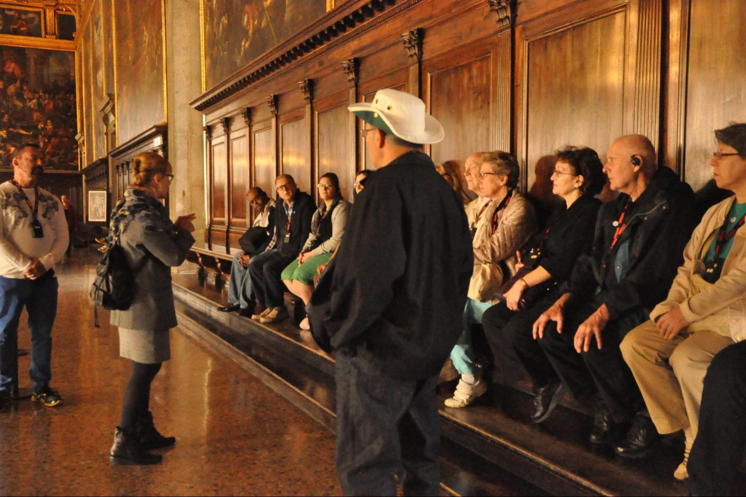 Small Group Doge's Palace Venice Tours - Doge's Palace Paper staircase