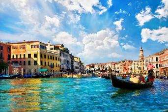 Private Grand Canal & Minor Canals Cruise Ship Excursion