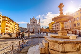 Best of the Uffizi and Santa Croce church small group Tour