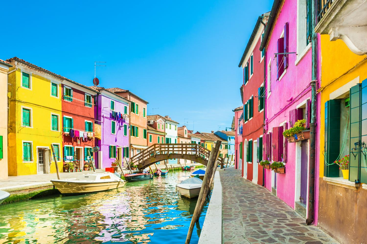 Private Venice Murano & Burano Islands Boat Tours