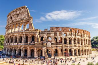 Private Colosseum and Roman forum tour