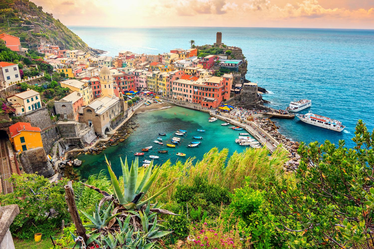 Semi-Private 10-Day Italy Vacation package featuring the Cinque Terre