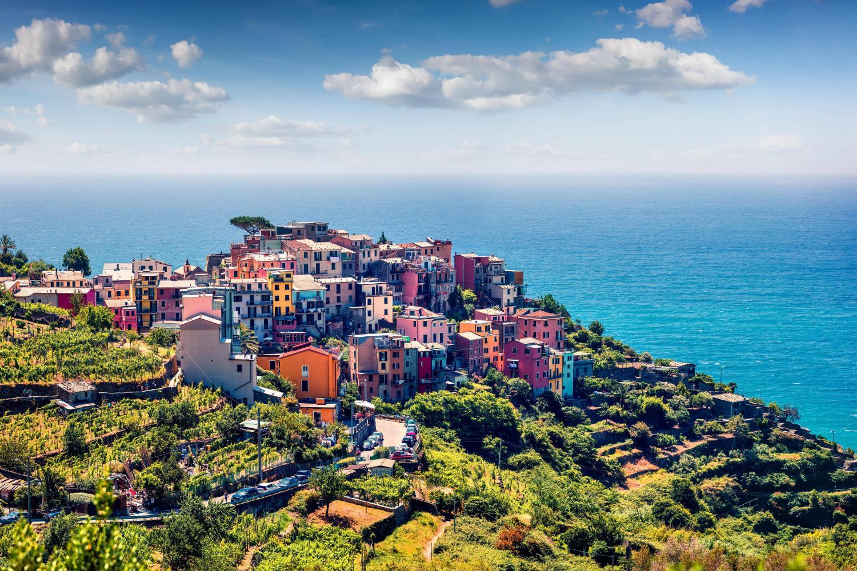 Visit the four villages of Riomaggiore, Manarola, Vernazza & Corniglia