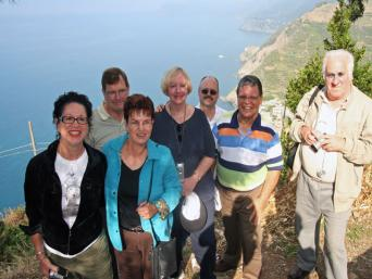 At the end of the day you'll enjoy incredible vistas as we visit Corniglia