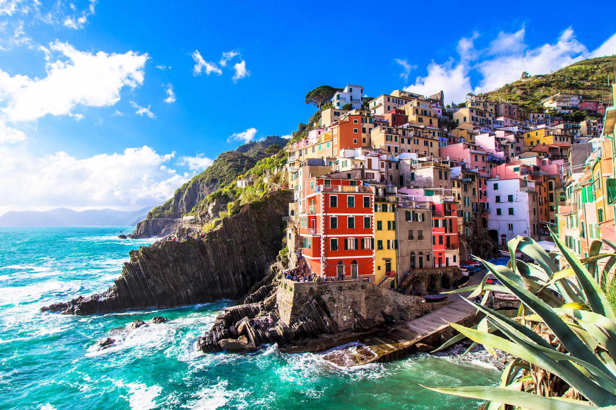 Enjoy the best possible views of the Cinque Terre