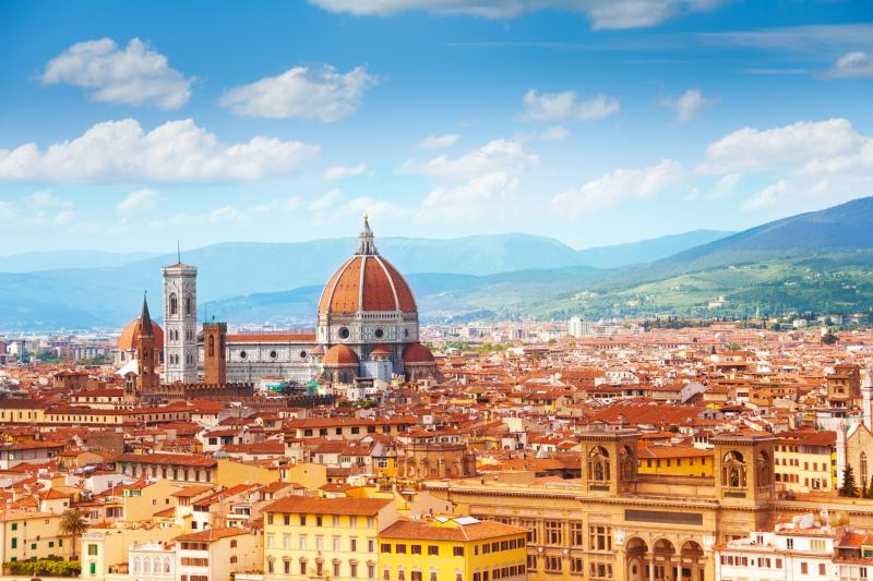 Florence & Rome to Civitavecchia port Pre cruise Vacation Package