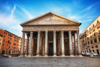 Pantheon featured in best of rome private tour