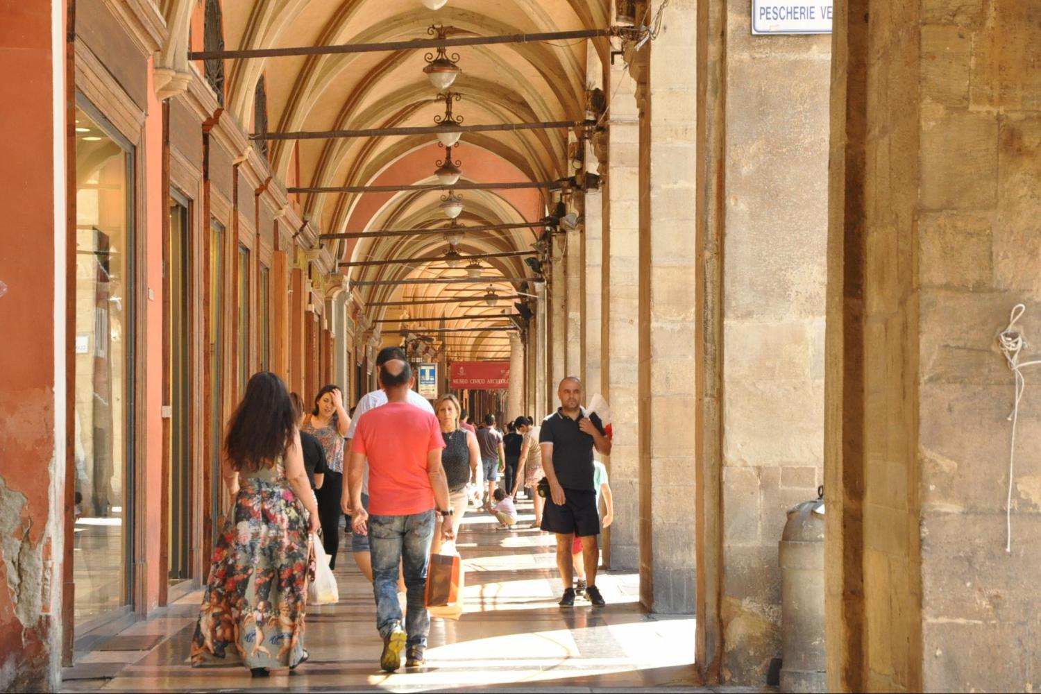 private walking tours of Bologna