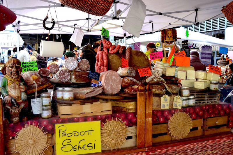 Private food markets of Florence walking tour