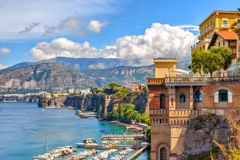 11 Day Semi Private Vacation Package featuring the Big Three and the Amalfi Coast