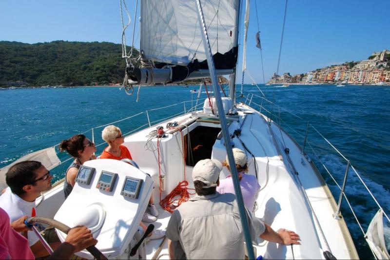 Cinque Terre sailing day trip