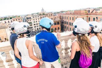 Rome Vespa sidecar tour