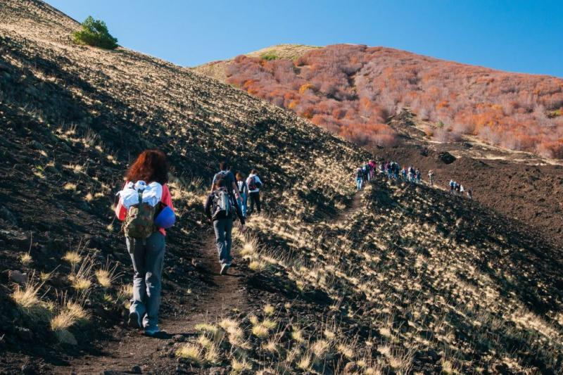 Sicily Mount Etna wine & hike tour
