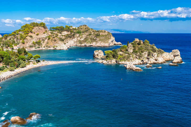 Sicily Taormina boat excursion