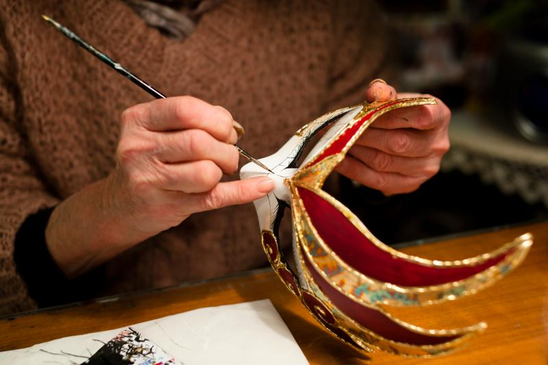 Venice Mask Making & Decorating Workshop