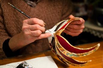 Venice Mask Making & Decorating Workshop