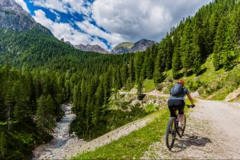 Bike tours in the Dolomites