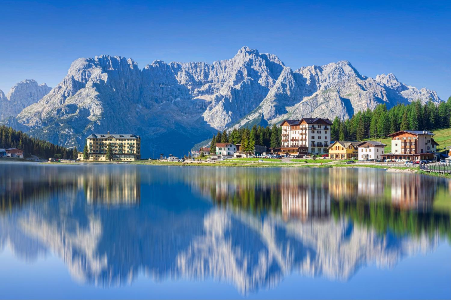Small Group Dolomites and Cortina Venice Day Trips