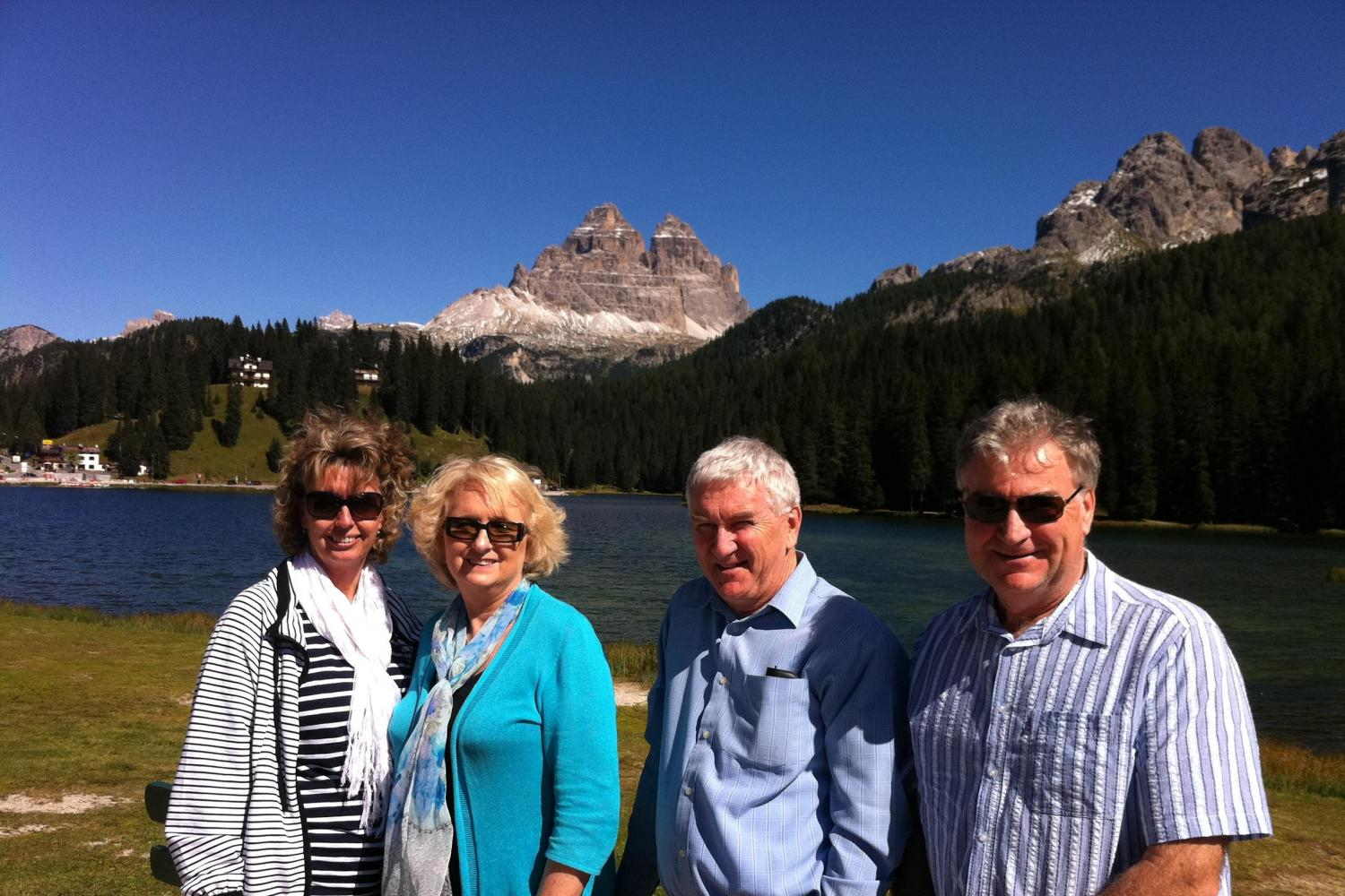 Small Group Dolomites and Cortina Venice Day Trips - Santa Croce lake