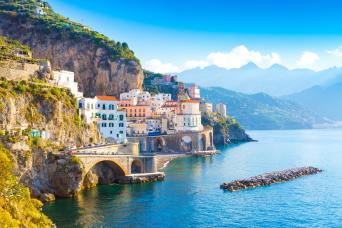 Private Rome to Amalfi Transfer Tour