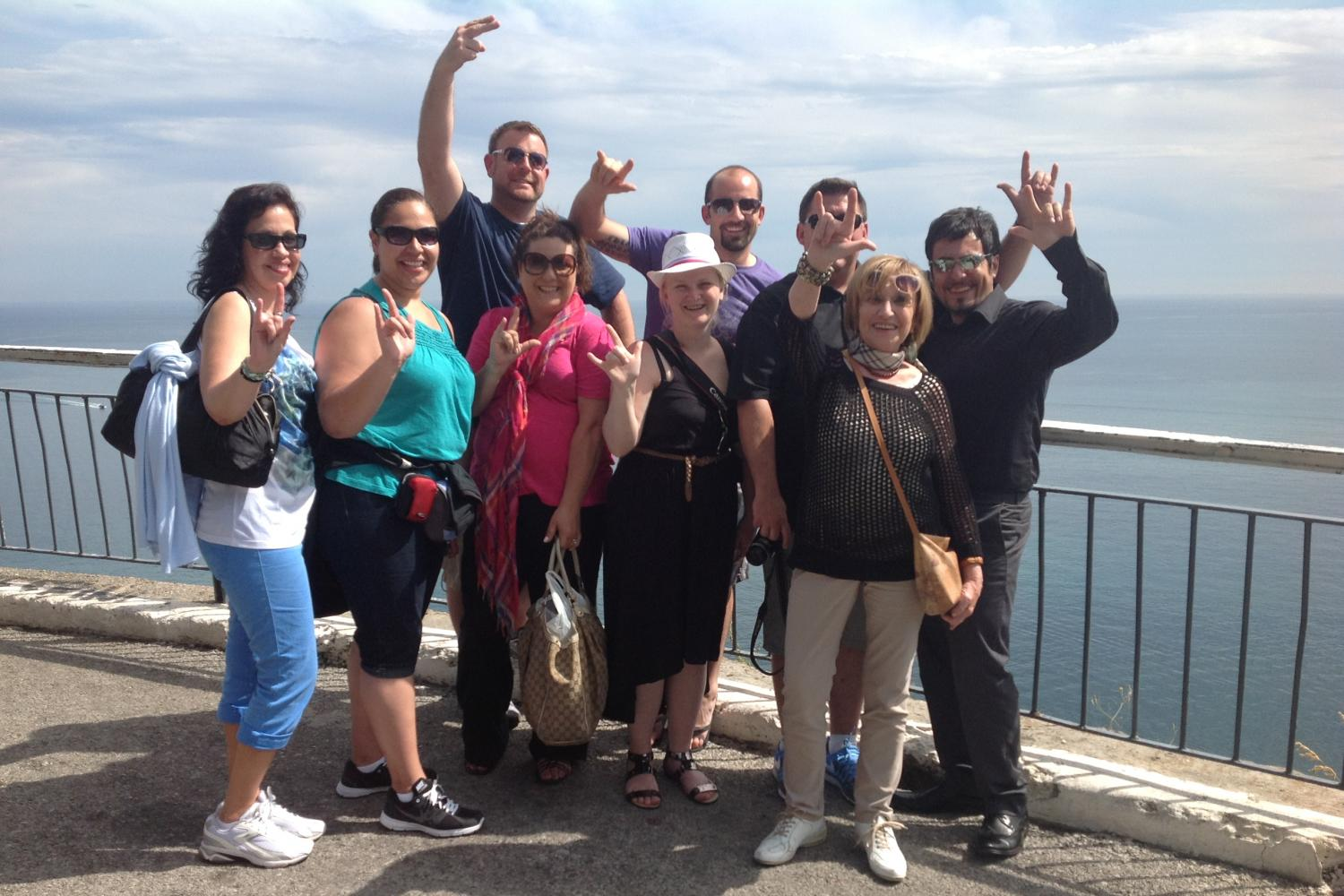 Small Group Rome Pompeii and The Amalfi Coast Day Tours