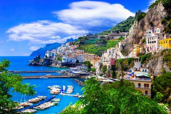 Private Full Day Amalfi coast and Positano Tour from Rome